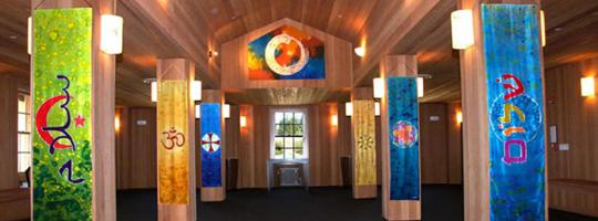 View of the CIRCLE, an interfaith sanctuary