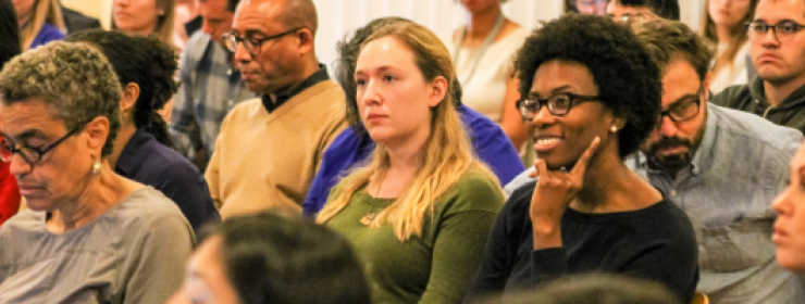 Stanford graduate community members during Diversity Works event