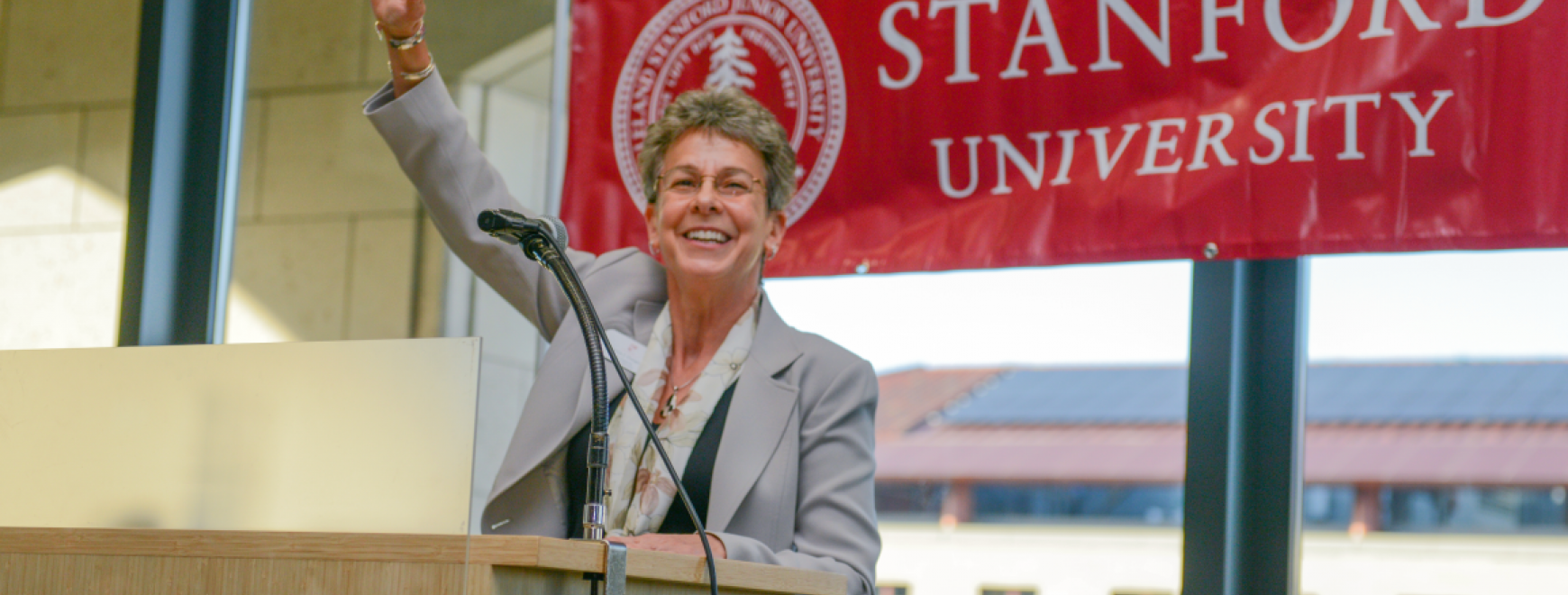 Vice Provost for Graduate Education Patricia J. Gumport